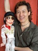 Frankie with Marionette